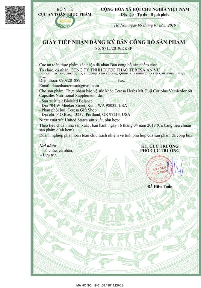 giấy phép vân chi