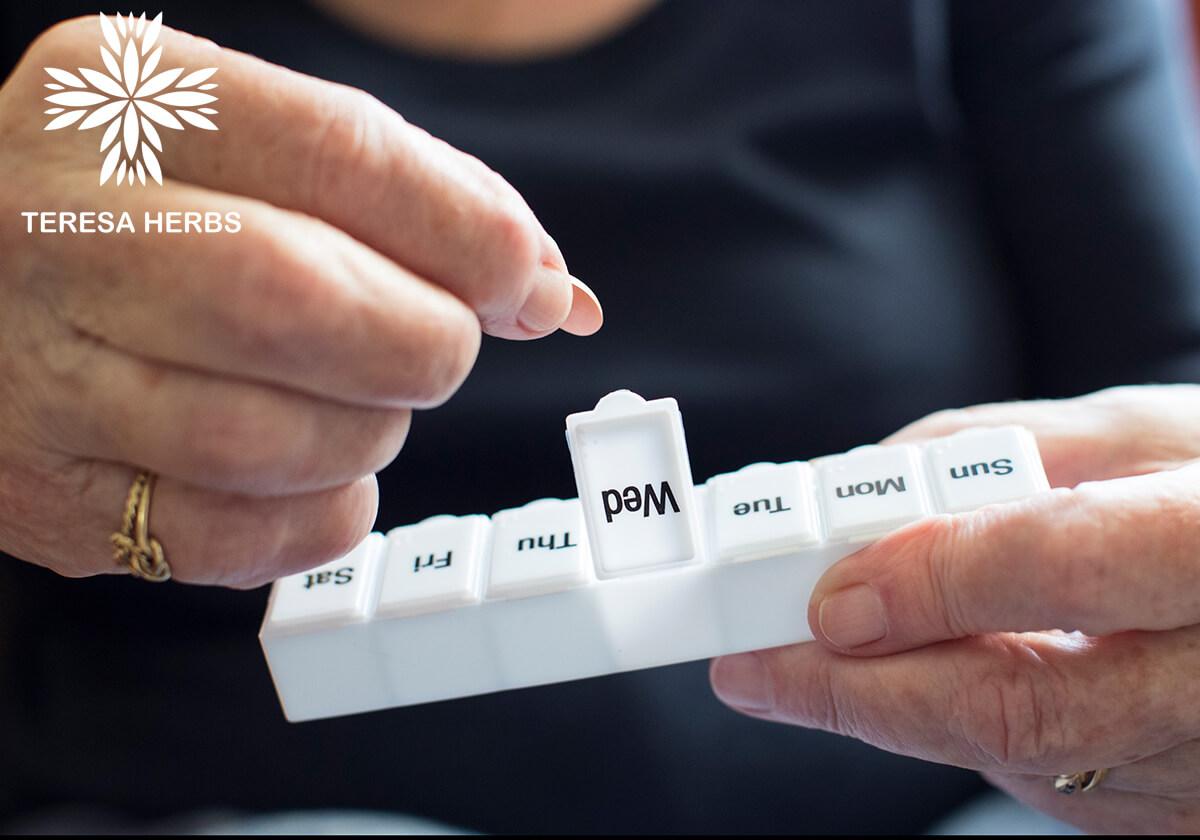 Sử dụng khay đựng thuốc giúp tránh được nguy cơ uống quá liều