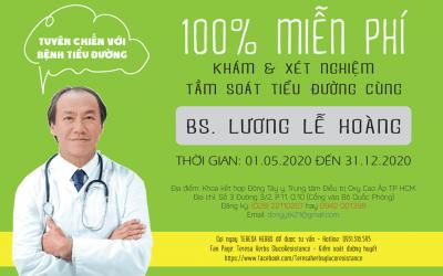 """Mô hình phục vụ sức khỏe cộng đồng """"TUYÊN CHIẾN VỚI BỆNH TIỂU ĐƯỜNG"""" Bác sĩ Lương Lễ Hoàng"""